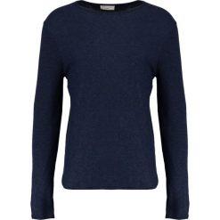 Swetry klasyczne męskie: Selected Homme SHNBAS CREW NECK Sweter navy blazer/black twist