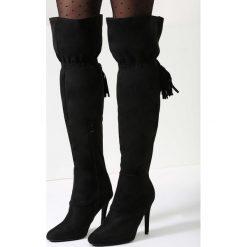 Czarne Kozaki Fun In The Winter. Czarne buty zimowe damskie marki vices, na wysokim obcasie. Za 74,99 zł.