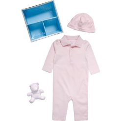 Przytulanki i maskotki: Polo Ralph Lauren COVERALAPPAREL ACCESSORI SET Pluszowa maskotka hint of pink