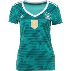 Bluzki sportowe damskie: adidas Performance DFB DEUTSCHLAND AWAY Koszulka reprezentacji equipmentgreen/white/realteal