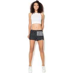 Spodnie damskie: Colour Pleasure Spodnie damskie CP-020 268 czarno-szaro-białe r. M-L