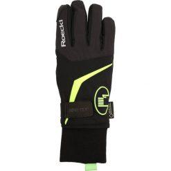 Rękawiczki męskie: Roeckl Sports REGGELLO GTX Rękawiczki pięciopalcowe schwarz/gelb