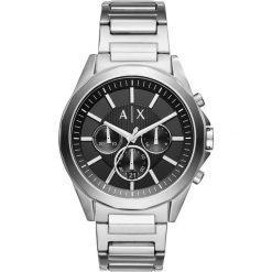 Armani Exchange Zegarek chronograficzny silvercoloured. Czarne zegarki męskie marki Armani Exchange, l, z materiału, z kapturem. Za 929,00 zł.
