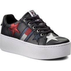 Sneakersy damskie: Sneakersy TOMMY JEANS – Icon Sparkle Sneaker EN0EN00160  Midnight 403
