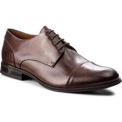Półbuty GINO ROSSI - Chuck MPV526-N83-ZR00-3700-0 92. Brązowe buty wizytowe męskie Gino Rossi, z materiału. W wyprzedaży za 229,00 zł.