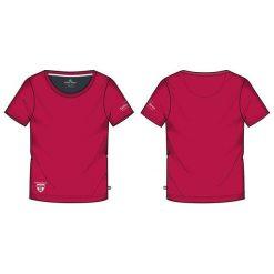 KILLTEC Koszulka damska Abelka czerwona r. L (22132). T-shirty damskie KILLTEC, l. Za 55,16 zł.