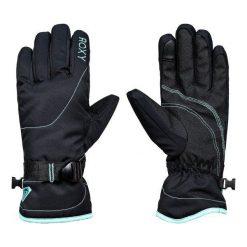 Roxy Rękawiczki Zimowe Rx Jetty So Glo True Black Xl. Czarne rękawiczki damskie Roxy, na zimę, z syntetyku. W wyprzedaży za 139,00 zł.