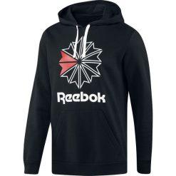 Bejsbolówki męskie: Reebok Foundation Starcrest Hoodie Bluza z kapturem czarny