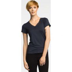 Calvin Klein Underwear - Top piżamowy. Różowe piżamy damskie marki Calvin Klein Underwear, l, z dzianiny. Za 149,90 zł.