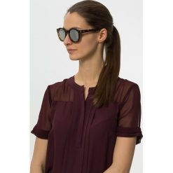 Okulary przeciwsłoneczne damskie aviatory: Le Specs HEY MACARENA Okulary przeciwsłoneczne brown