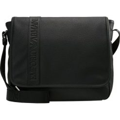 Emporio Armani BORSA MESSENGER Torba na ramię black. Czarne torby na ramię męskie Emporio Armani, na ramię, małe. Za 1049,00 zł.