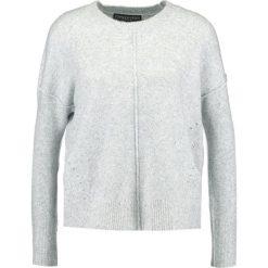 Swetry klasyczne damskie: Topshop Petite Sweter grey marl