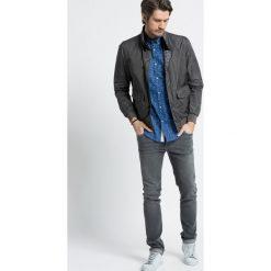 Trussardi Jeans - Kurtka dwustronna. Czarne kurtki męskie jeansowe marki Trussardi Jeans, s. W wyprzedaży za 1699,00 zł.