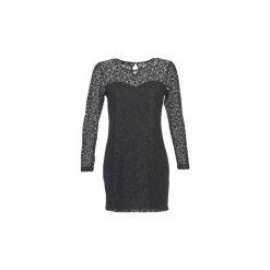 Sukienki krótkie Le Temps des Cerises  JOE. Czarne sukienki hiszpanki Le Temps Des Cerises, m, z krótkim rękawem, mini. Za 247,20 zł.