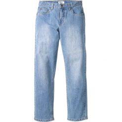 Dżinsy ze stretchem Regular Fit Straight bonprix jasnoniebieski. Niebieskie jeansy męskie regular bonprix. Za 109,99 zł.