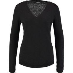 Swetry klasyczne damskie: Sisley V NECK Sweter black