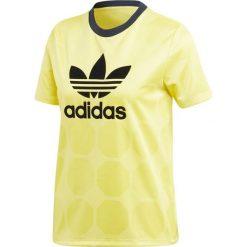 Adidas Koszulka damska Fashion League Jaguard Slim żółta r. 34 (CE3716). Żółte bluzki damskie Adidas. Za 151,82 zł.