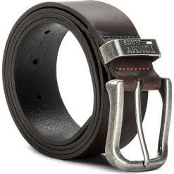 Pasek Męski TOMMY JEANS - Tjm Metal Loop Belt 4.0 AM0AM03286 100 041. Brązowe paski męskie Tommy Jeans, w paski, z jeansu. W wyprzedaży za 159,00 zł.
