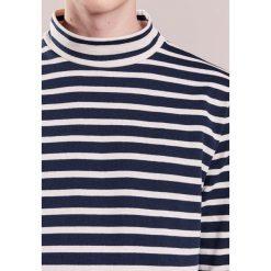 Swetry klasyczne męskie: YMC You Must Create Sweter navy/ecru