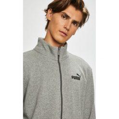 Puma - Bluza. Szare bluzy męskie rozpinane Puma, l, z bawełny, bez kaptura. Za 219,90 zł.