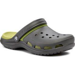 Klapki CROCS - Modi Sport Clog 204143 Graphite/Volt Green. Szare klapki męskie marki Crocs, z tworzywa sztucznego. W wyprzedaży za 159,00 zł.