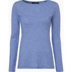T-shirty damskie: Marc O'Polo – Damska koszulka z długim rękawem, lila
