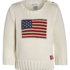 Swetry chłopięce: Polo Ralph Lauren FLAG Sweter essex cream