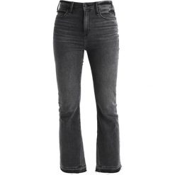 Boyfriendy damskie: Abercrombie & Fitch ANKLE  Jeansy Bootcut washed black