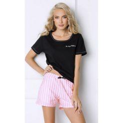 Piżamy damskie: Damska piżama Royal w paski
