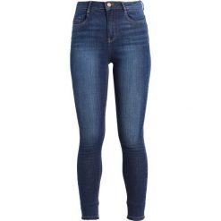 Dorothy Perkins SHAPE AND LIFT JEAN Jeans Skinny Fit indigo. Niebieskie jeansy damskie marki Dorothy Perkins, z bawełny. Za 209,00 zł.