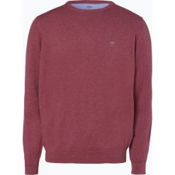 Fynch Hatton - Sweter męski, czerwony. Czerwone swetry klasyczne męskie Fynch-Hatton, l, z dzianiny. Za 249,95 zł.