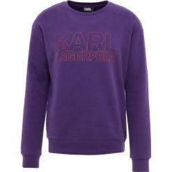 KARL LAGERFELD Bluza purple. Fioletowe bluzy męskie marki Reserved, l, z bawełny. Za 609,00 zł.