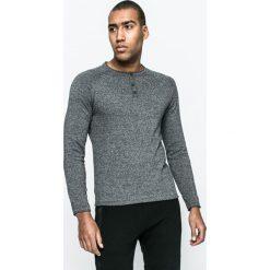 Medicine - Sweter City Rhythmes. Niebieskie swetry klasyczne męskie marki Reserved, l, z okrągłym kołnierzem. W wyprzedaży za 79,90 zł.
