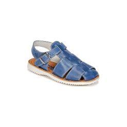 Sandały Dziecko  Citrouille et Compagnie  ITACOJ. Niebieskie sandały chłopięce Citrouille et Compagnie. Za 143,20 zł.