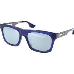 """Okulary przeciwsłoneczne męskie aviatory: Okulary przeciwsłoneczne """"0018/S RL2/T4"""" w kolorze niebieskim"""