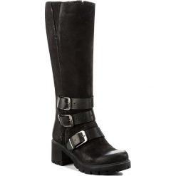 Kozaki SIMEN - 8446 G.Nero S04. Czarne buty zimowe damskie marki Kazar, ze skóry, na wysokim obcasie. W wyprzedaży za 359,00 zł.