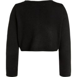 Swetry chłopięce: Mini Molly STAR GIRLS CARDIGAN Kardigan black