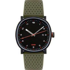 Zegarek męski Tic15 skórzany pasek zielony. Zielone zegarki męskie Alessi, ze stali. Za 685,00 zł.