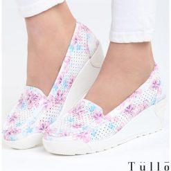 Fioletowe Koturny Mind Eraser. Fioletowe buty ślubne damskie marki Born2be, z materiału, na wysokim obcasie, na koturnie. Za 69,99 zł.