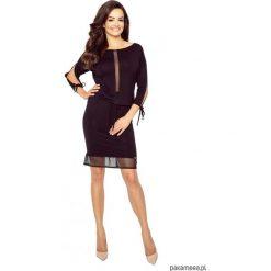 Elegancka sukienka. Niebieskie sukienki mini marki Pakamera, z bawełny. Za 149,00 zł.