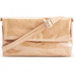 Torebka z połyskiem - Beżowy. Brązowe torebki klasyczne damskie Reserved. Za 89,99 zł.