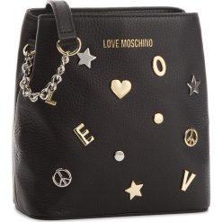 Torebka LOVE MOSCHINO - JC4152PP16LZ0000  Nero. Czarne torebki klasyczne damskie marki Love Moschino, ze skóry, duże. Za 959,00 zł.