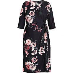 Sukienki hiszpanki: Dorothy Perkins Curve TIE WRAP DRESS PRINT Sukienka letnia multi