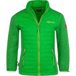 """Kurtka polarowa """"Skabu XT"""" w kolorze zielonym. Zielone kurtki dziewczęce marki Trollkids, z materiału. W wyprzedaży za 112,95 zł."""