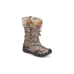 Śniegowce Dziecko Primigi  SHILO-E GORETEX. Brązowe buty zimowe chłopięce Primigi, z gore-texu. Za 319,20 zł.