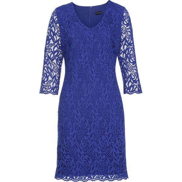 fb62aae307 Sukienka bonprix błękit królewski - Niebieskie sukienki damskie ...
