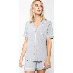 Dkny - Piżama New Signature. Szare piżamy damskie marki DKNY, l, z bawełny. Za 349,90 zł.
