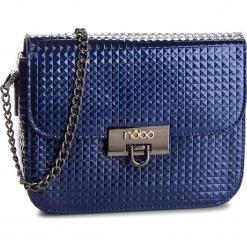Torebka NOBO - NBAG-FF0040-C013 Granatowy. Niebieskie torebki klasyczne damskie marki Nobo, ze skóry ekologicznej. W wyprzedaży za 119,00 zł.