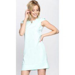 Sukienki: Miętowa Sukienka Bossed Up