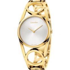 ZEGAREK CALVIN KLEIN Round K5U2S546. Szare zegarki damskie marki Calvin Klein, szklane. Za 1409,00 zł.